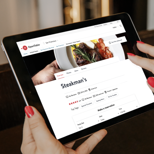 The value of an OpenTable profile