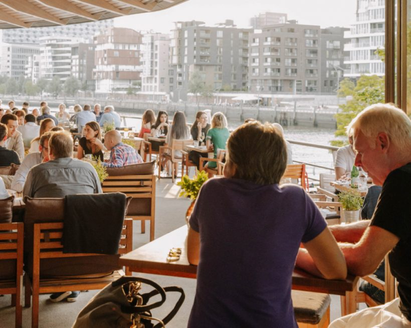 The pandemic may be winding down but outdoor dining is ramping up